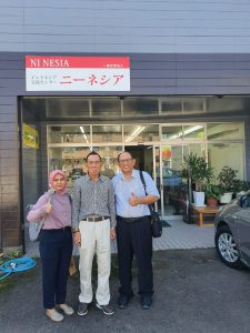 Kunjungan ke Kantor Ni Nesia – Miyazaki