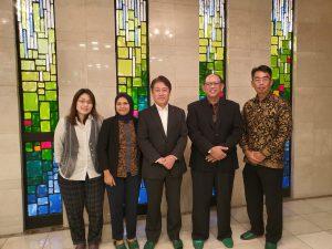Kunjungan ke DPRD Nagoya
